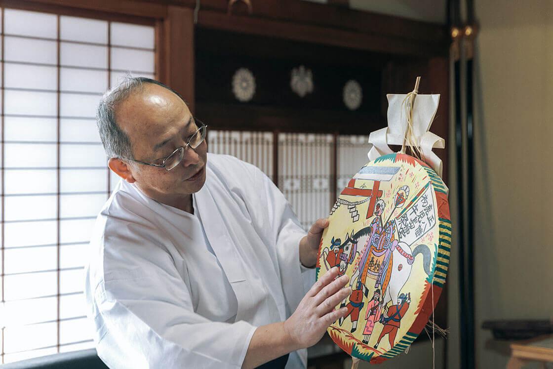 鹿児島神宮の伊賀昇三さん