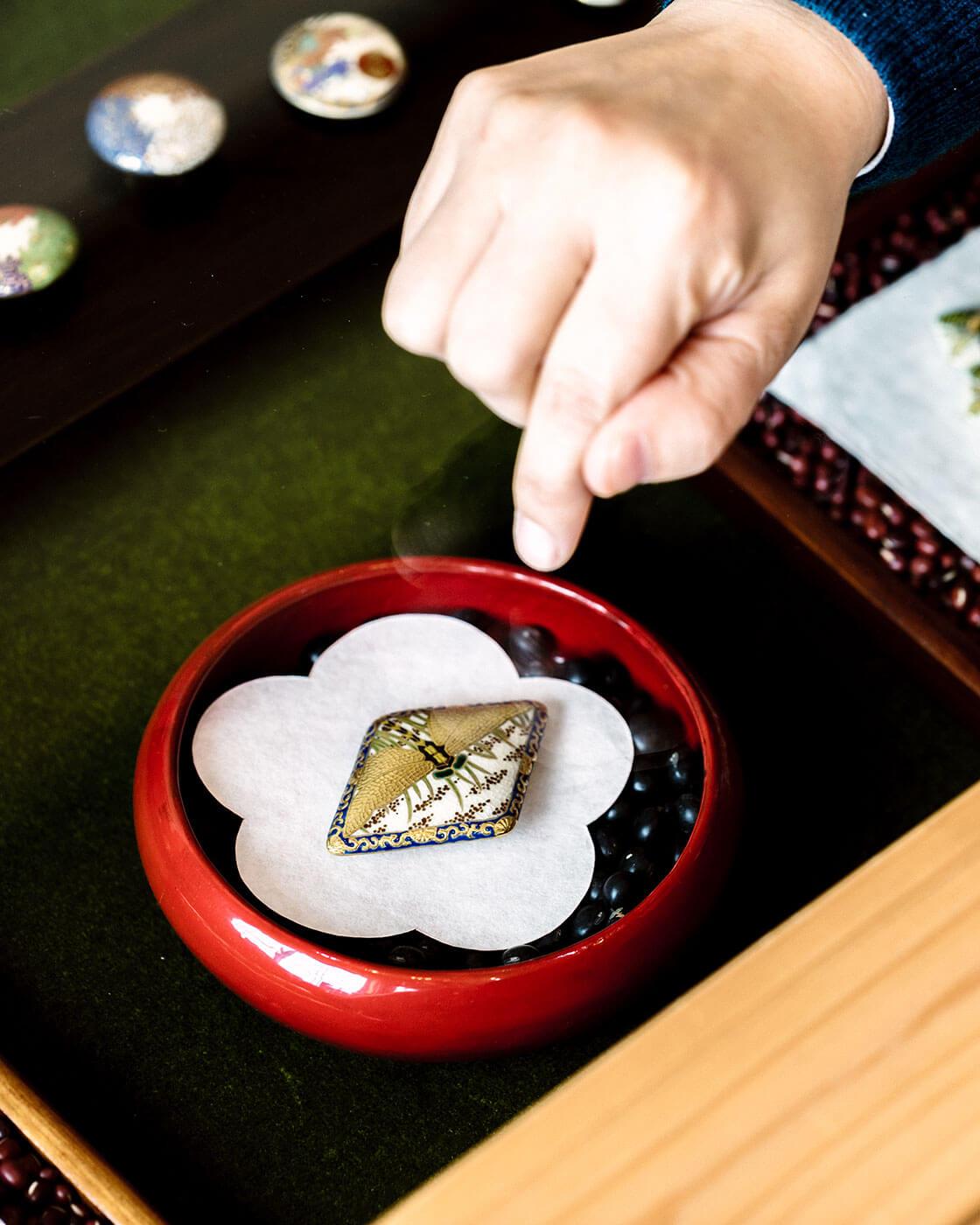 鹿児島・薩摩ボタン