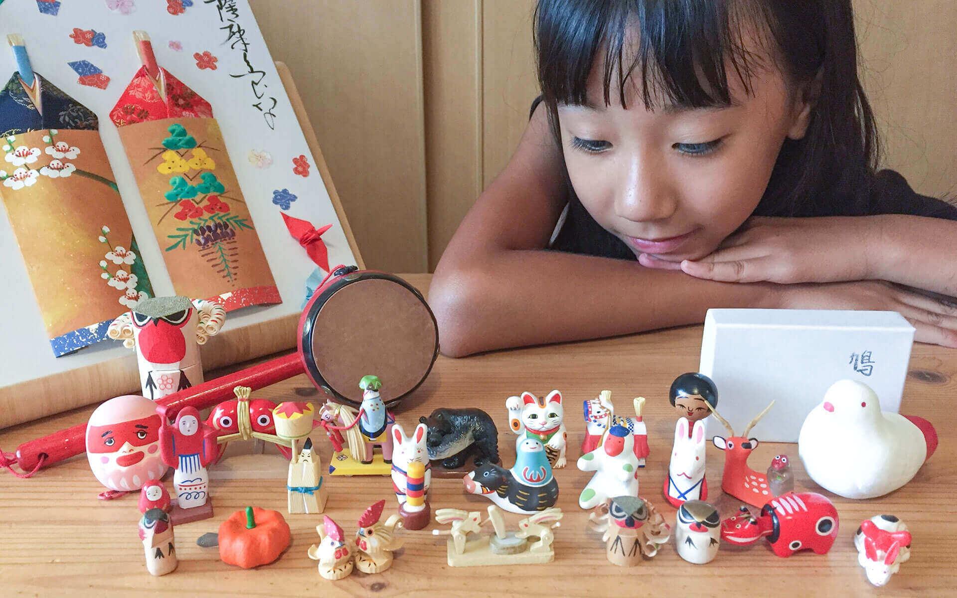鹿児島でうわさの小学4年生。郷土玩具に魅了された、はなちゃんの自由研究