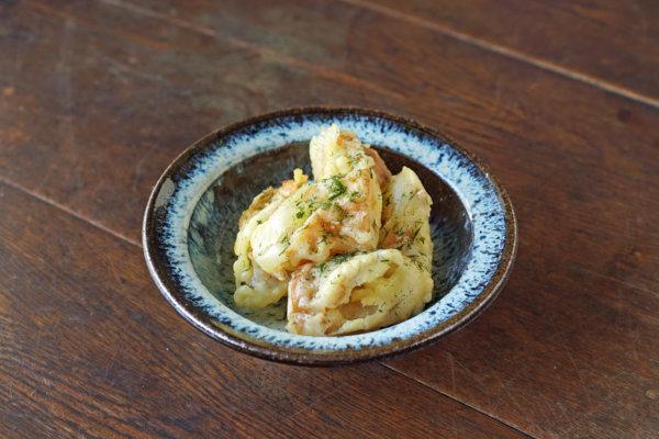 熊本県熊本市の諸国家庭料理PAVAOの定番メニュー「ちくわ天」