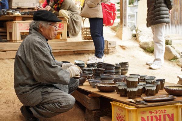 熊本県荒尾市の小代焼ふもと窯
