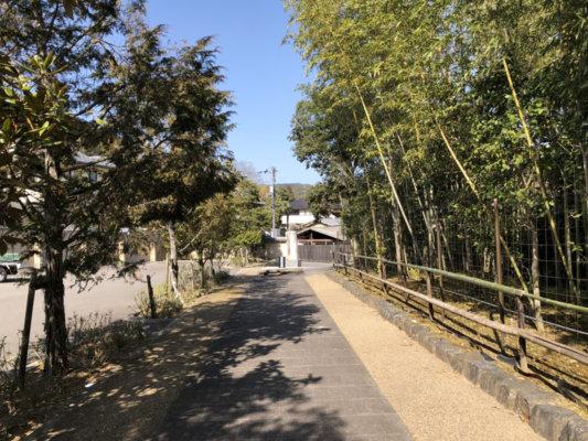 京都市左京区の圓通寺までの道
