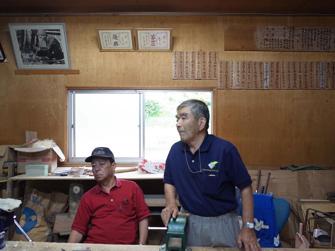 大野原きじ車保存会元会長の高倉三蔵さん