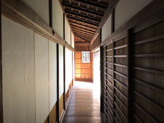 京都市左京区の圓通寺廊下