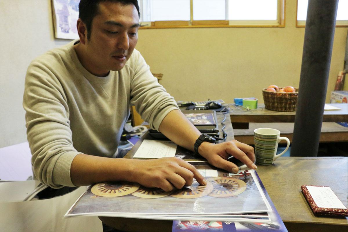 八野さんは、お祖父様の代から続く有限会社八野大工の3代目でもある