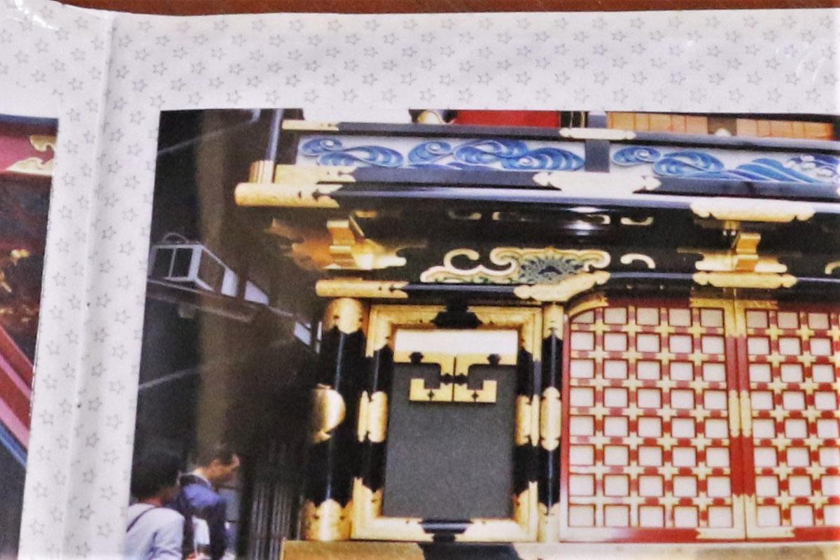 最終的には金具も飾り付けられ、大国台をきらびやかに彩る