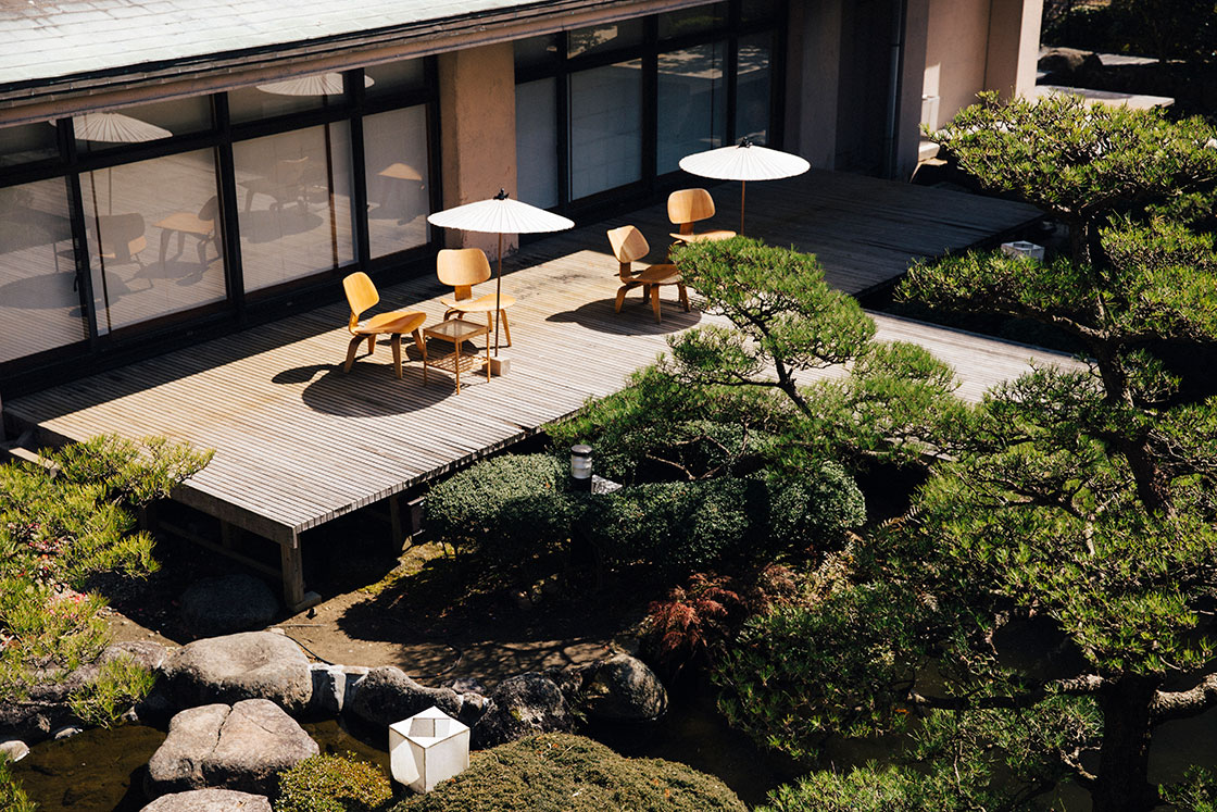 嬉野 和多屋別荘の中庭
