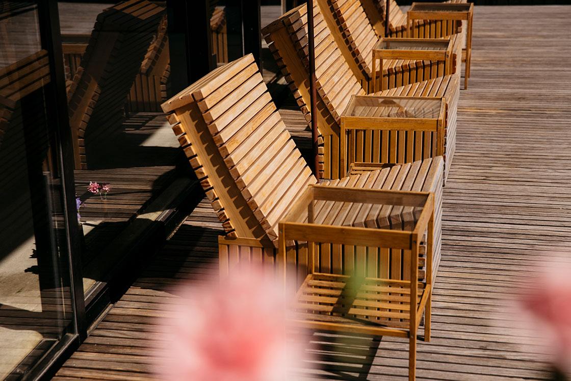 嬉野 和多屋別荘の椅子