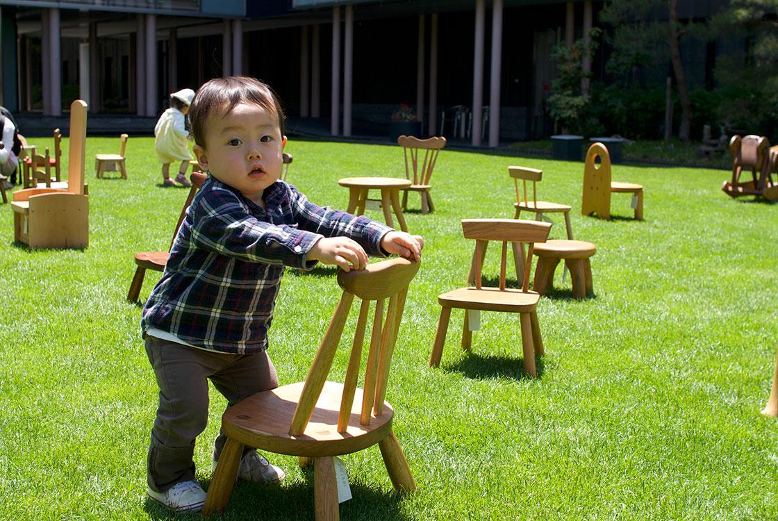 松本・工芸の五月・はぐくむ工芸 子ども椅子展2018