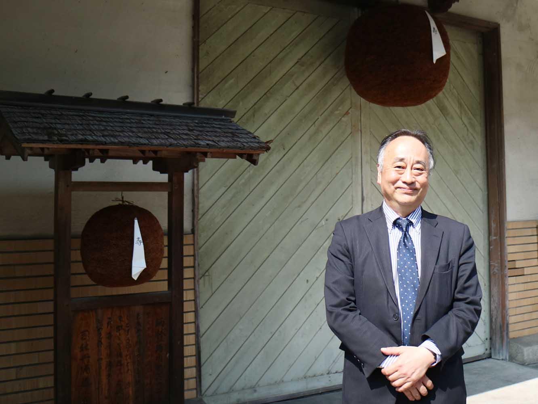 社長の竹村昭彦さん