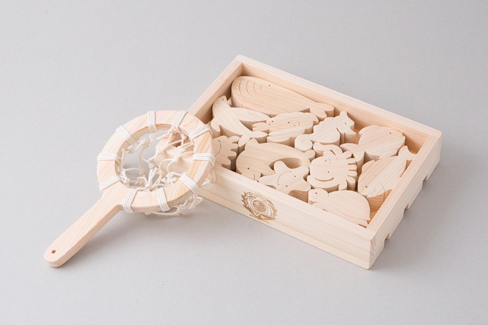 大ヒットになったお風呂用木製玩具「おふろでちゃぷちゃぷ」