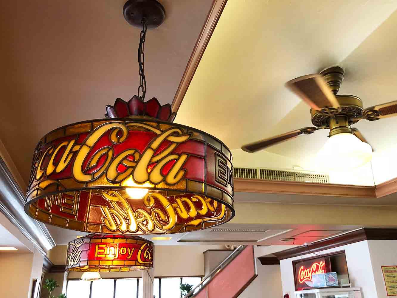 コカ・コーラのランプシェード