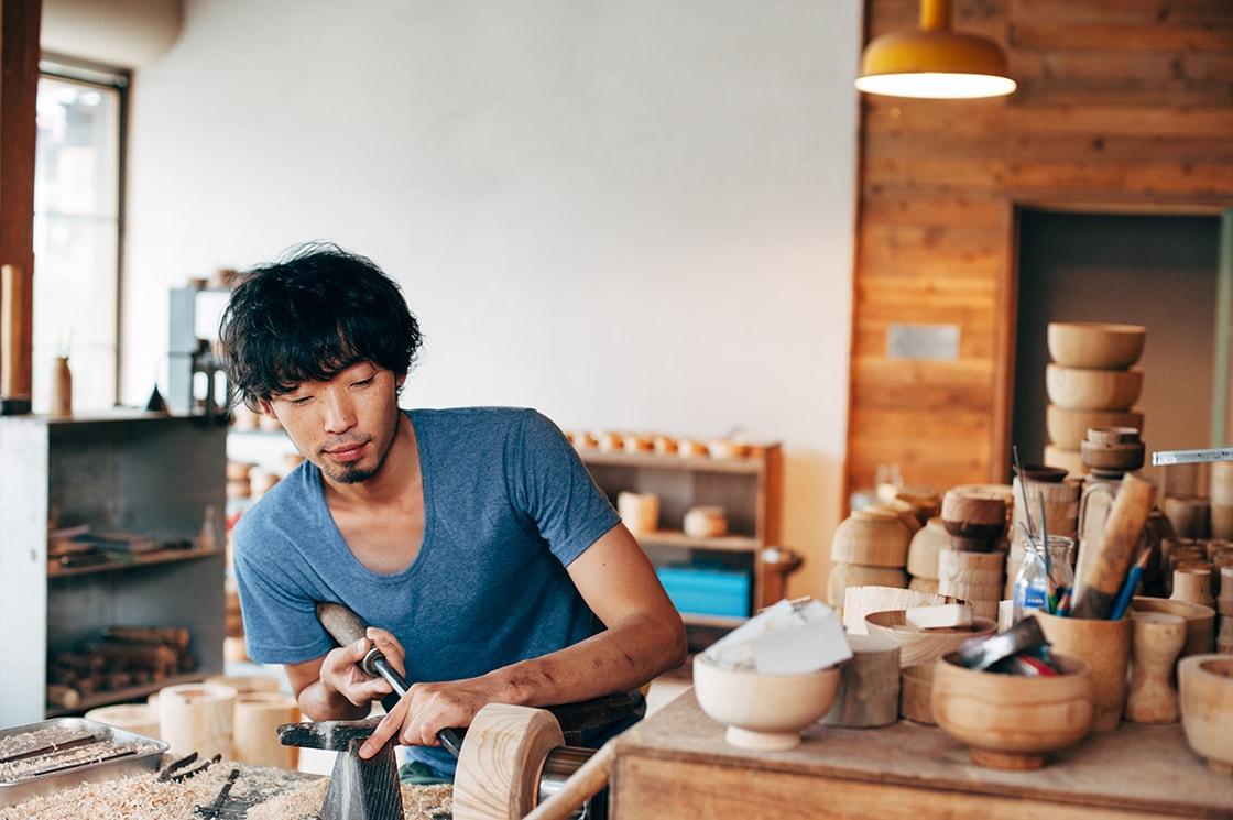HATCHi金沢、越前の工芸の魅力に触れる「福井県鯖江市への発地 2018春」開催 ろくろ舎