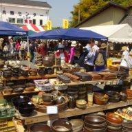 伝統的な益子焼から普段使い、美術品まで。恒例「益子春の陶器市」開催