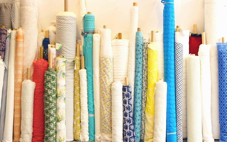 PASS THE BATON GALLERYで『福井発 デッドストック ファブリックマーケット  ~刺繍生地、レース生地、リボン編~』開催