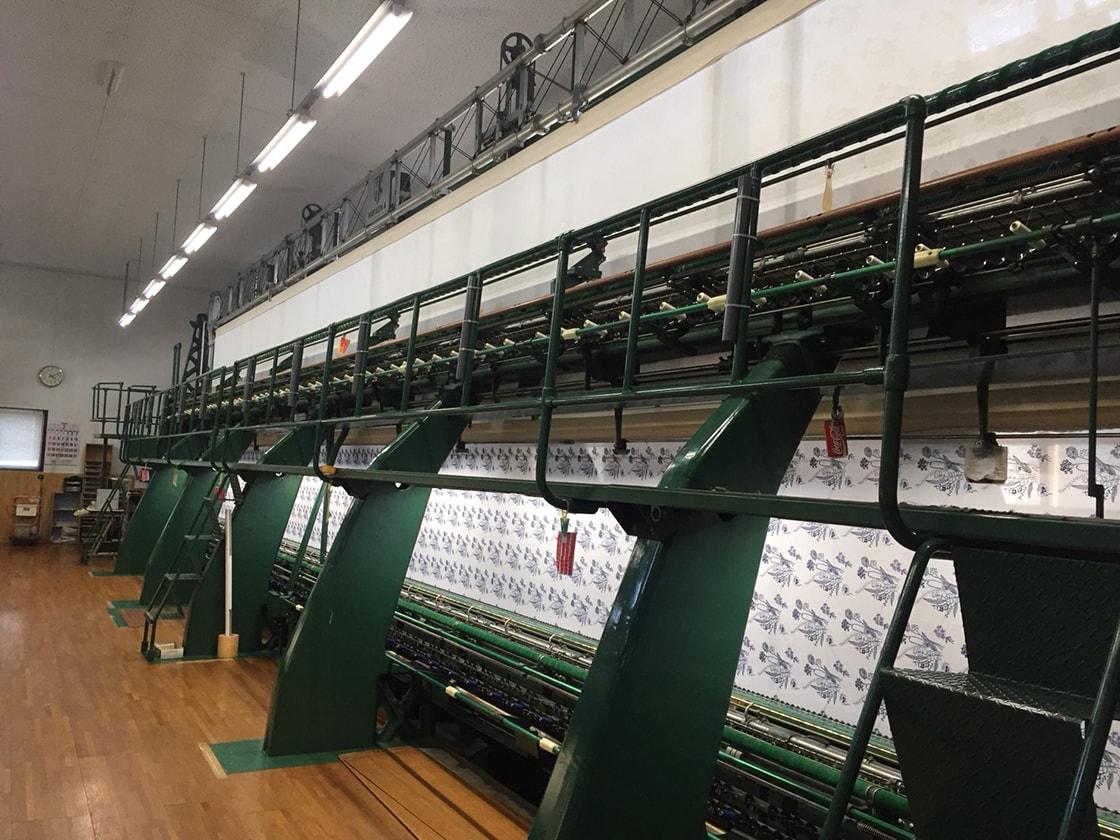PASS THE BATON GALLERYで『福井発 デッドストック ファブリックマーケット ~刺繍生地、レース生地、リボン編~』