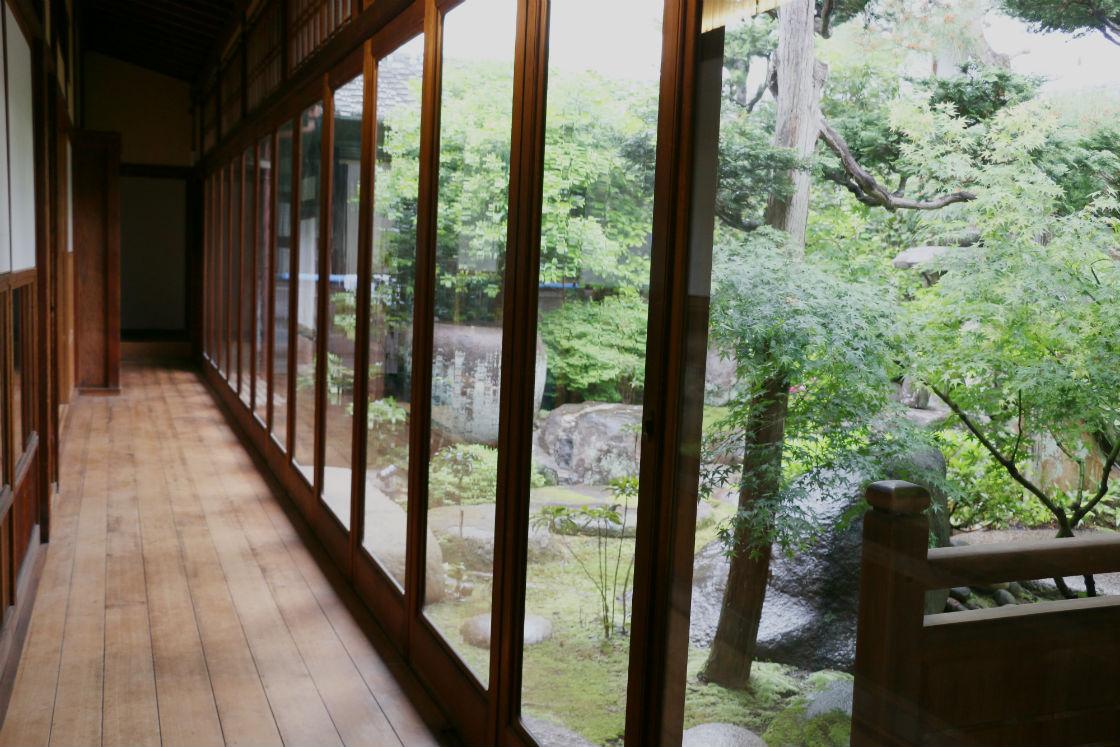 茶論奈良町店 庭