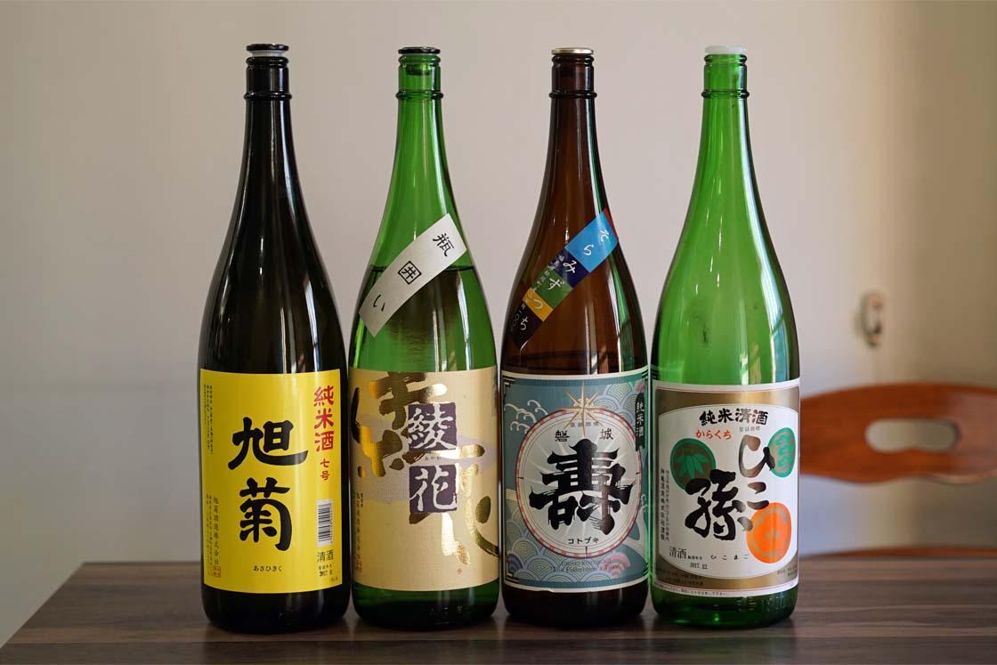 名古屋の米家(まいほーむ)にある日本酒