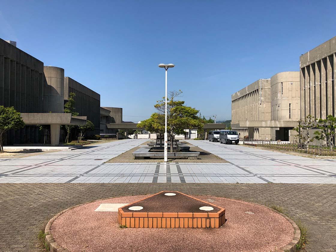徳島県鳴門市・鳴門市文化会館の外観