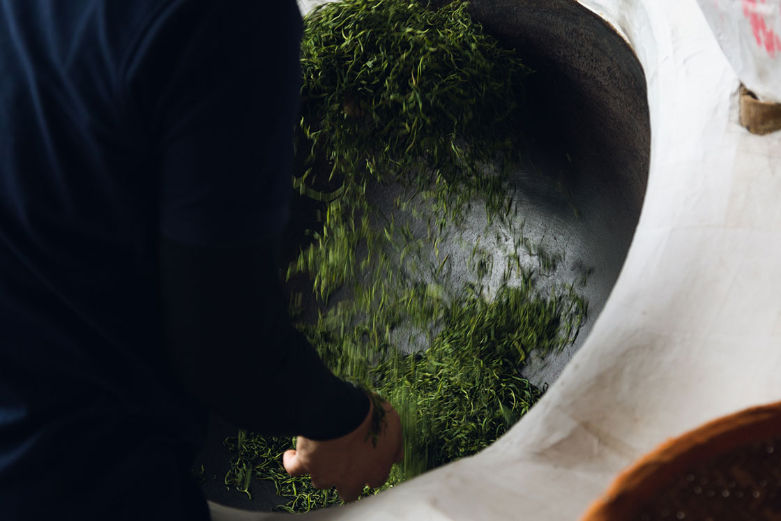嬉野 松尾製茶工場・松尾俊一さん