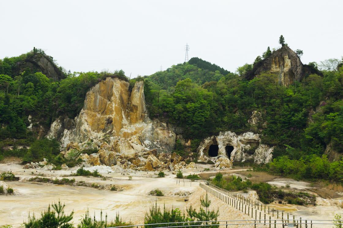 泉山磁石場