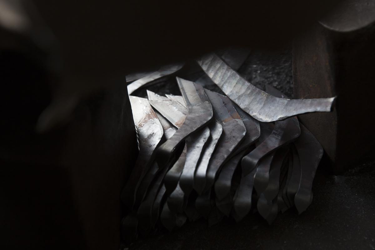 くじらナイフ の製造現場
