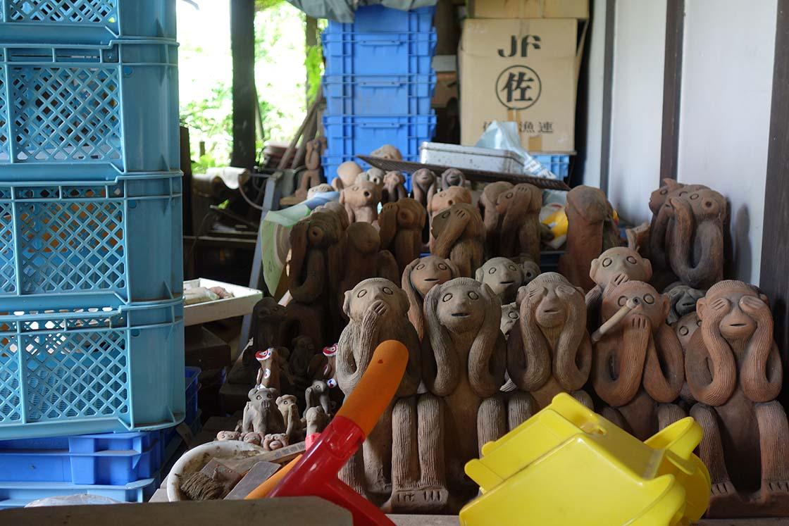 熊本の木葉猿窯元
