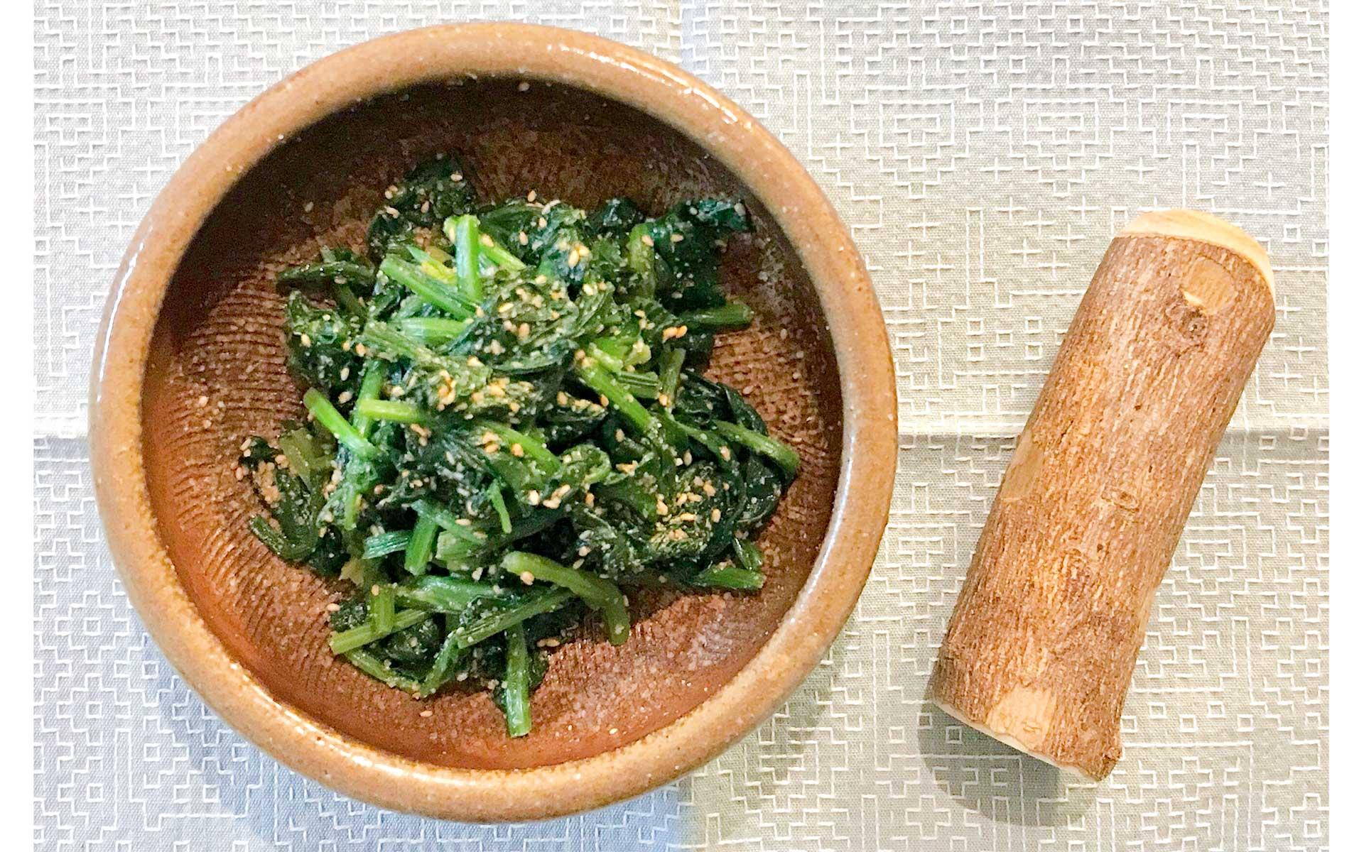 離乳食作りから生まれた使いやすさ。「備前焼・一陽窯のすり鉢」