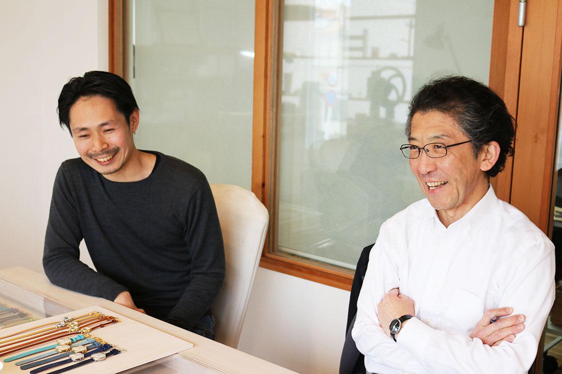 シーブレーン・井波社長と牛島さん