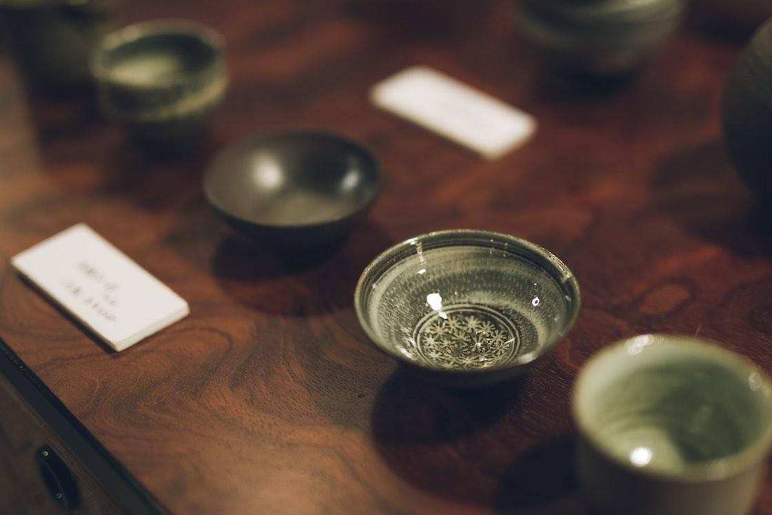口当たりがいいと評判の隆太窯の酒器