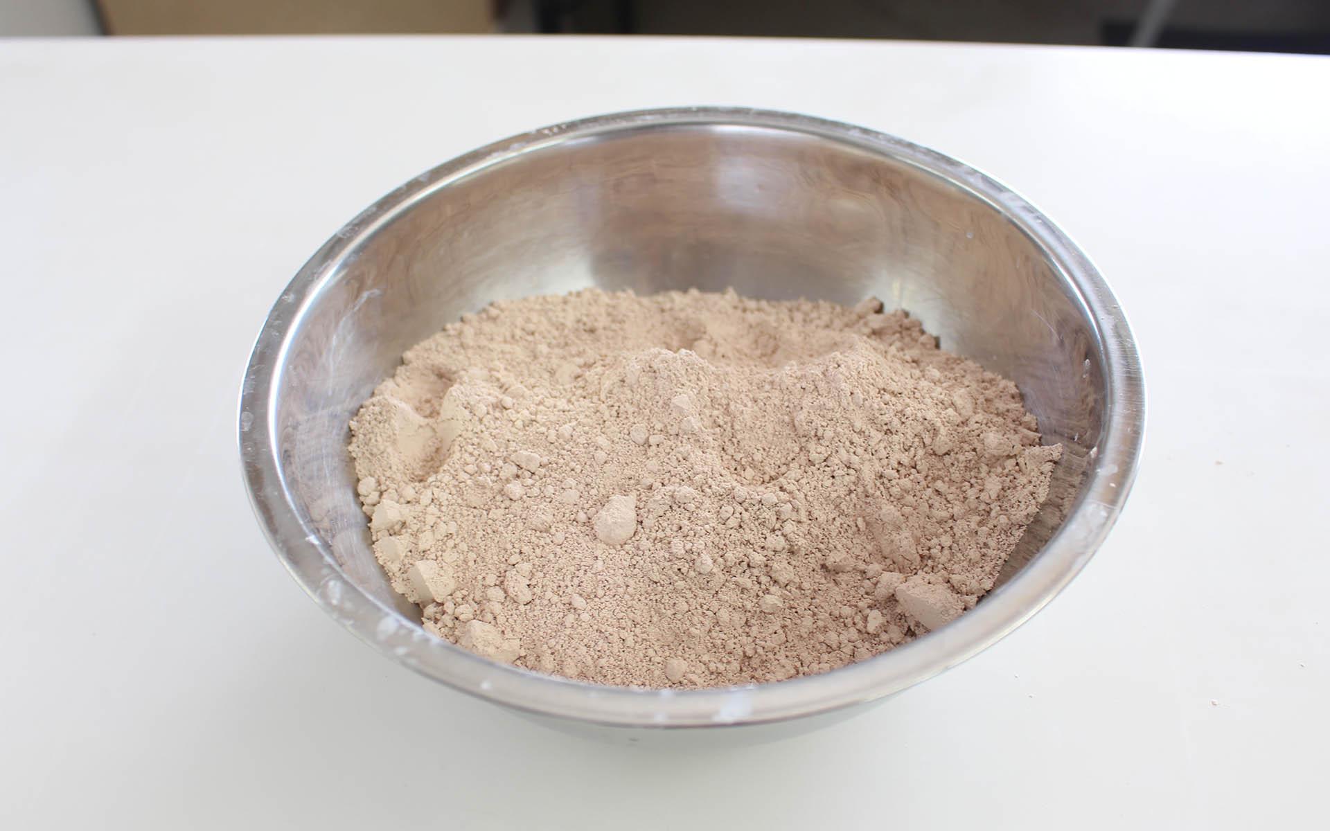珪藻土の粉