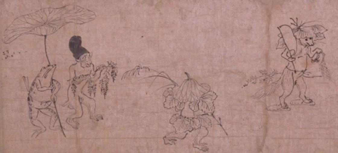 「鳥獣戯画」東京国立博物館像