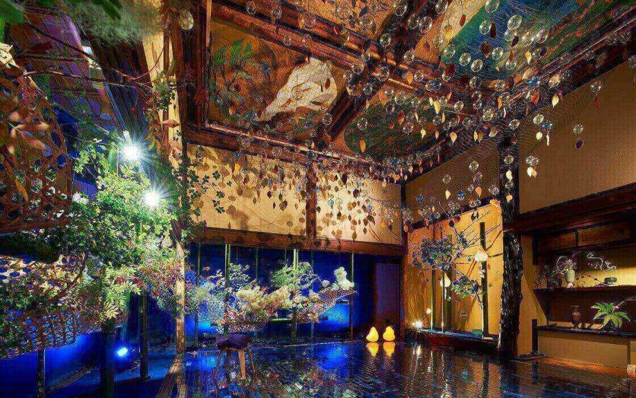ホテル雅叙園東京で7月7日(土)より開催「アートイルミネーション 和のあかり×百段階段2018 ~日本の色彩、日本のかたち~」
