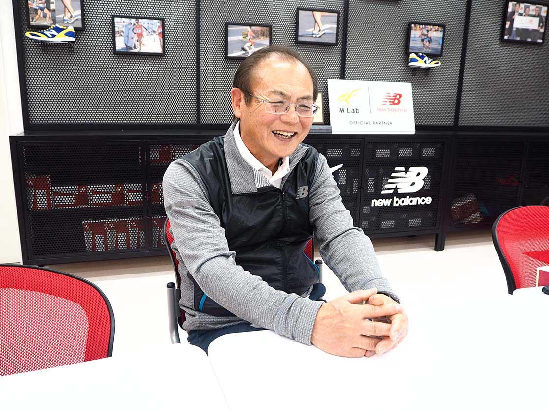 笑顔でモスクワ五輪での出来事を振り返る三村仁司さん