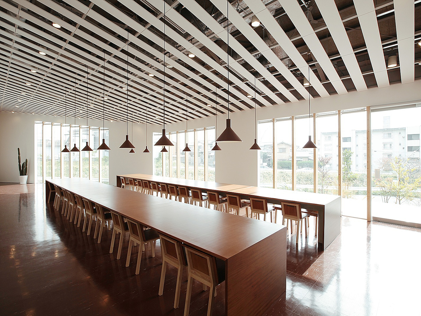 中川政七商店奈良本社の食堂