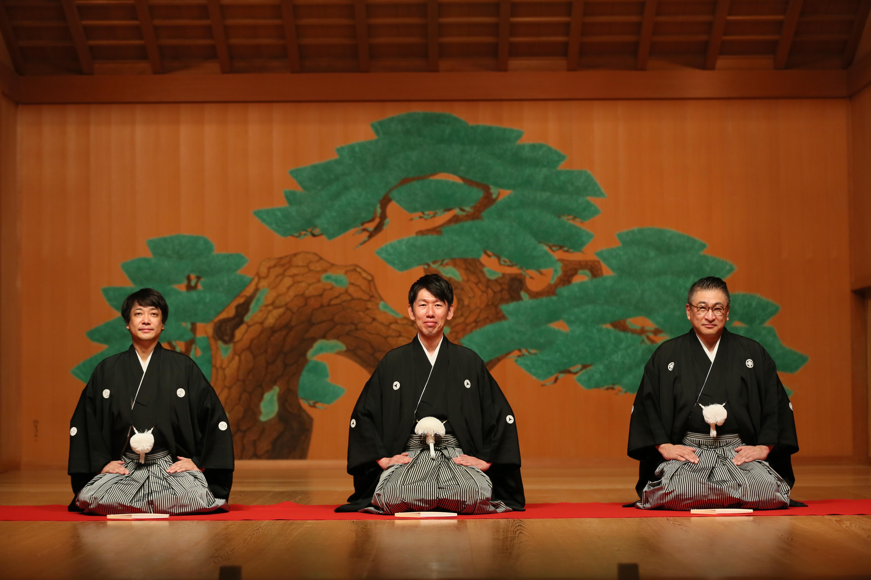 片山正通さん・水野学さんを後見人に奈良で執り行われた襲名披露の様子