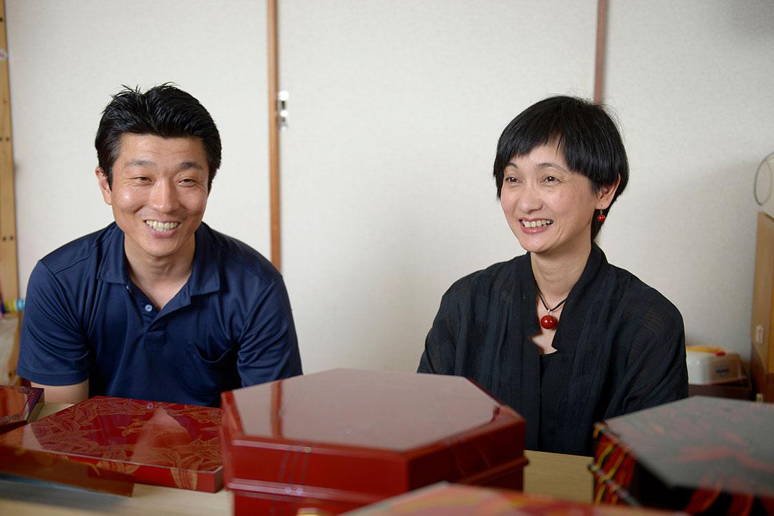 お話を伺った森田哲也さん(左)と宮島さおりさん(右)