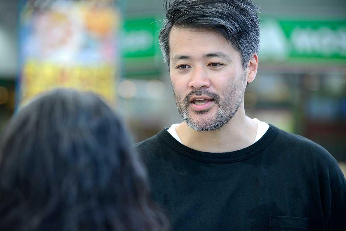 まーさんマルシェプロデューサーの小川弘純さん