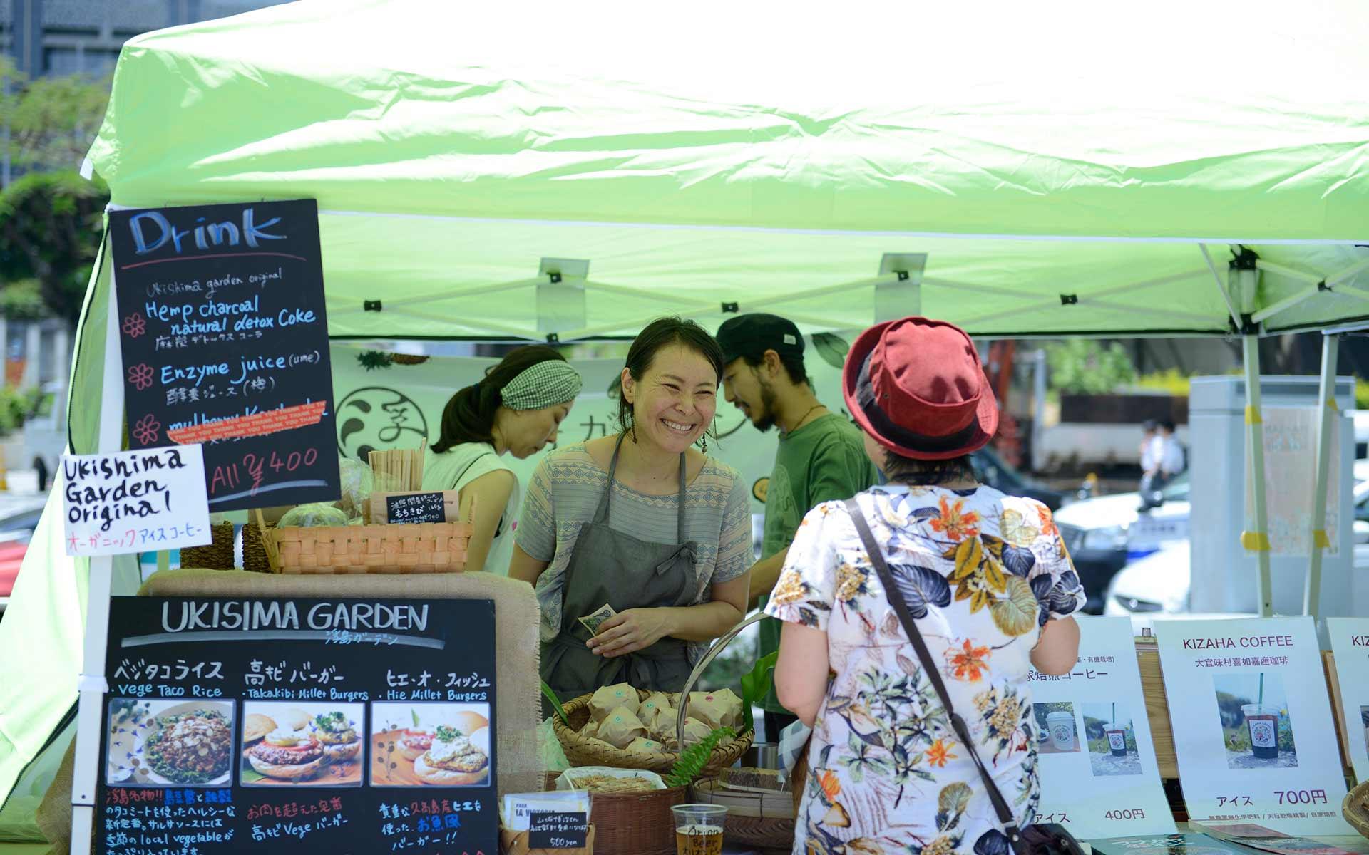 沖縄のおいしいが大集合。まーさんマルシェには沖縄の食の未来がある