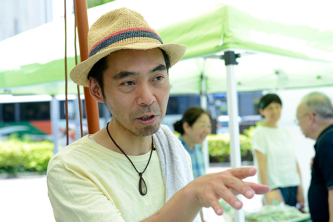 浮島ガーデンオーナーの中曽根勇一郎さん