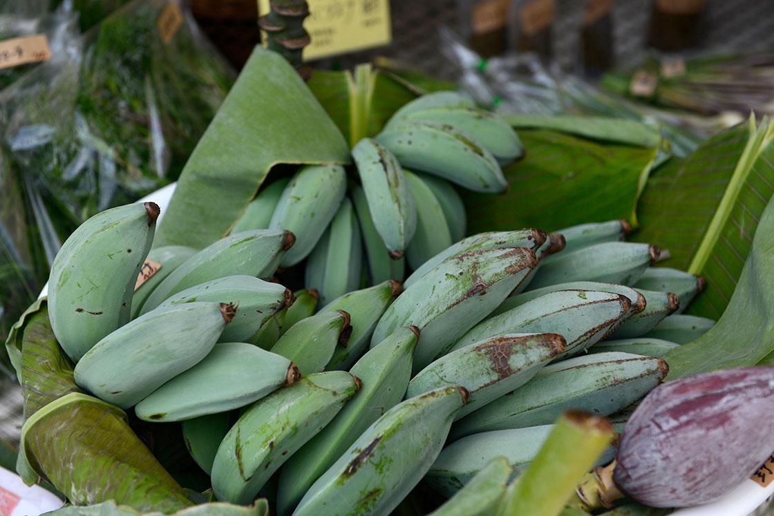 沖縄のまーさんマルシェ、島バナナ