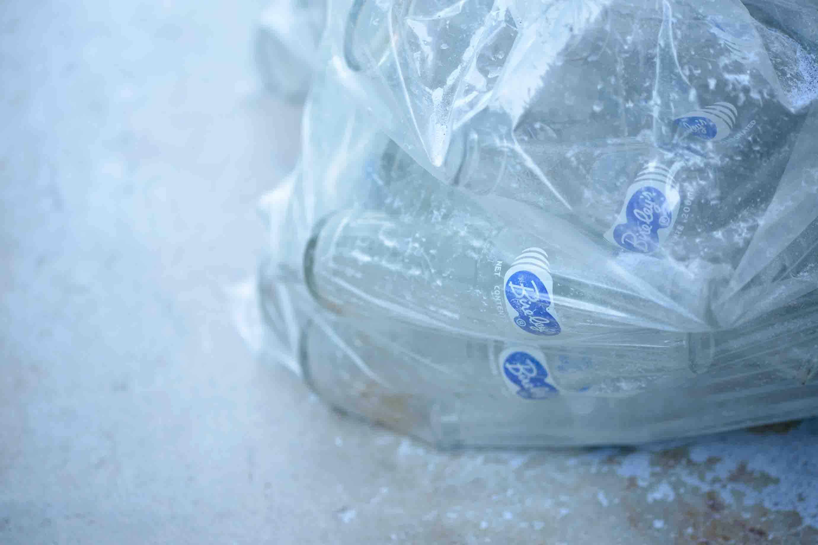 原料に使われるバヤリースの瓶