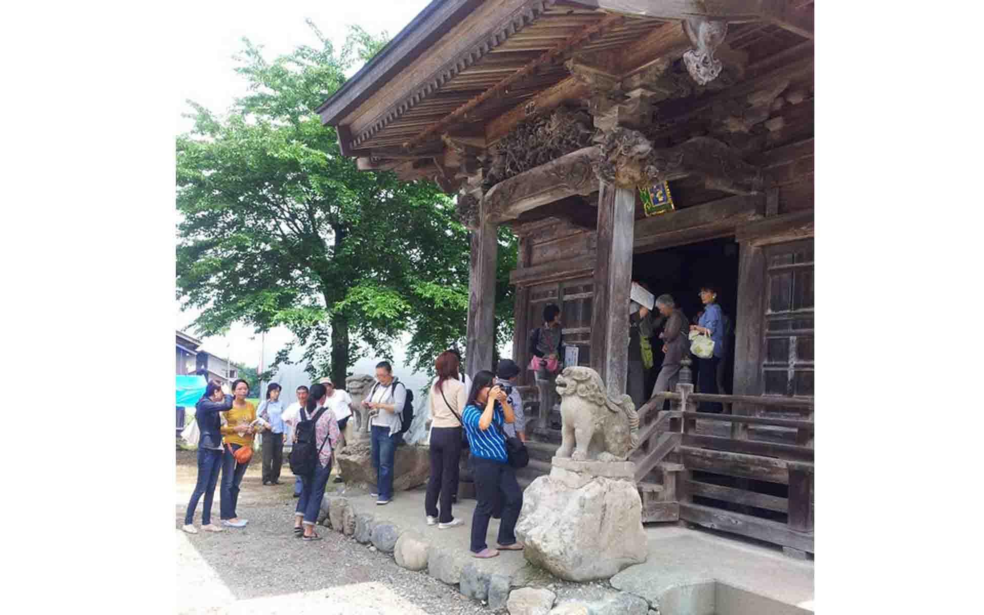 雲蝶ツアーの様子(写真提供:中島すい子)