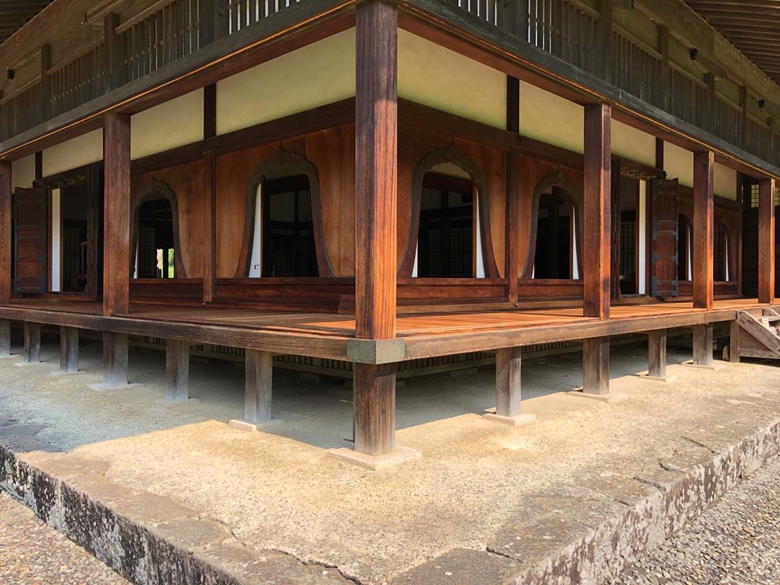 岡山県備前市の閑谷学校の講堂