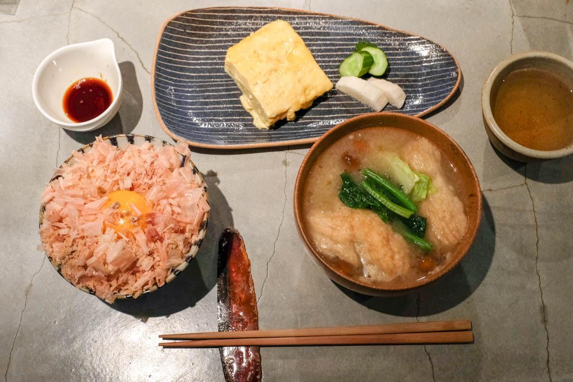 渋谷 かつお食堂のかつお定食