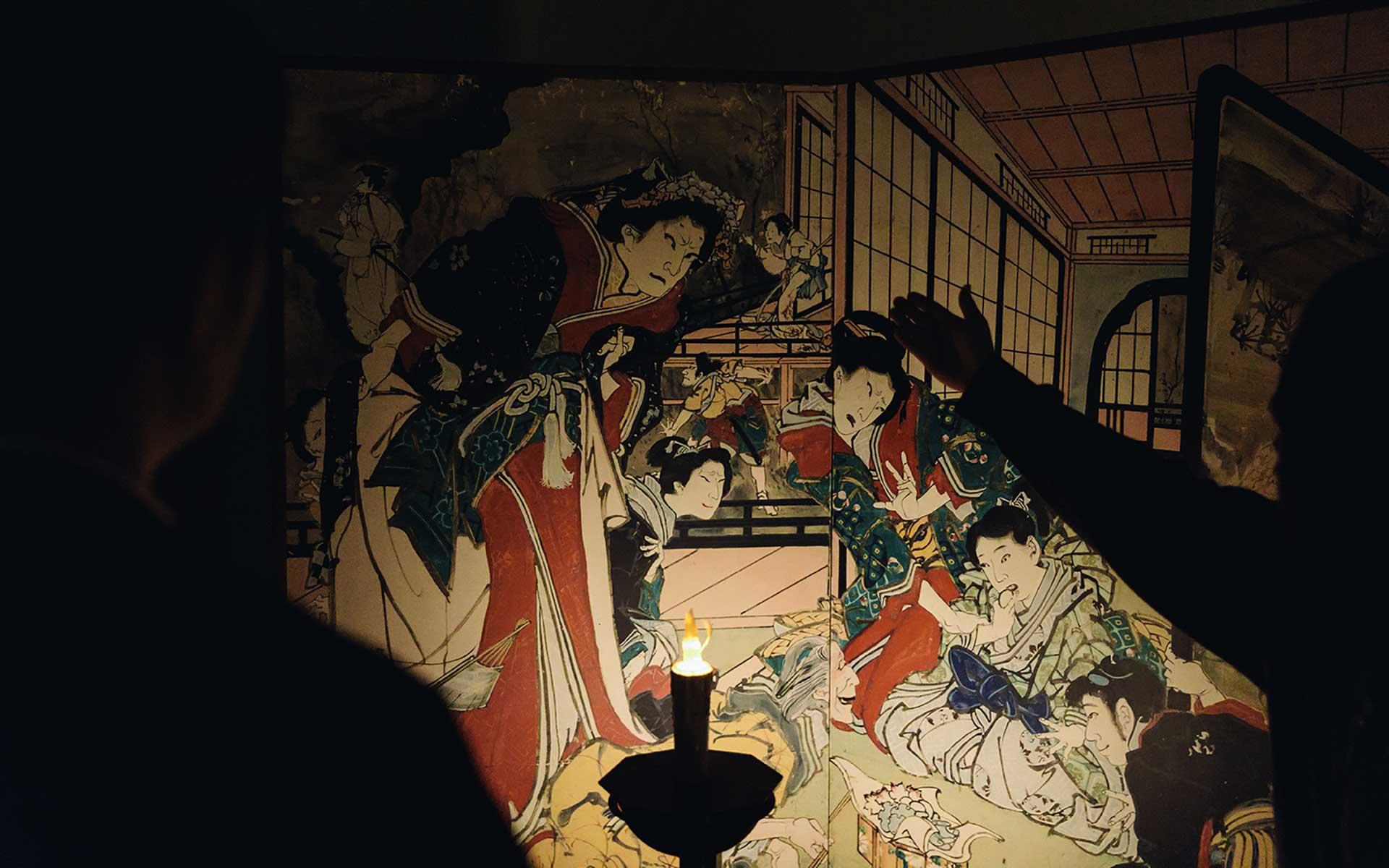 7月、謎の天才絵師「絵金」が高知の夜を彩る。