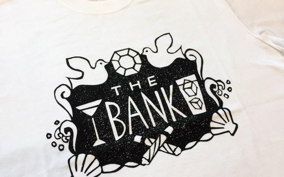 LOOPWHEELERが、鎌倉のバー「THE BANK」で期間限定出店。コラボアイテムを販売