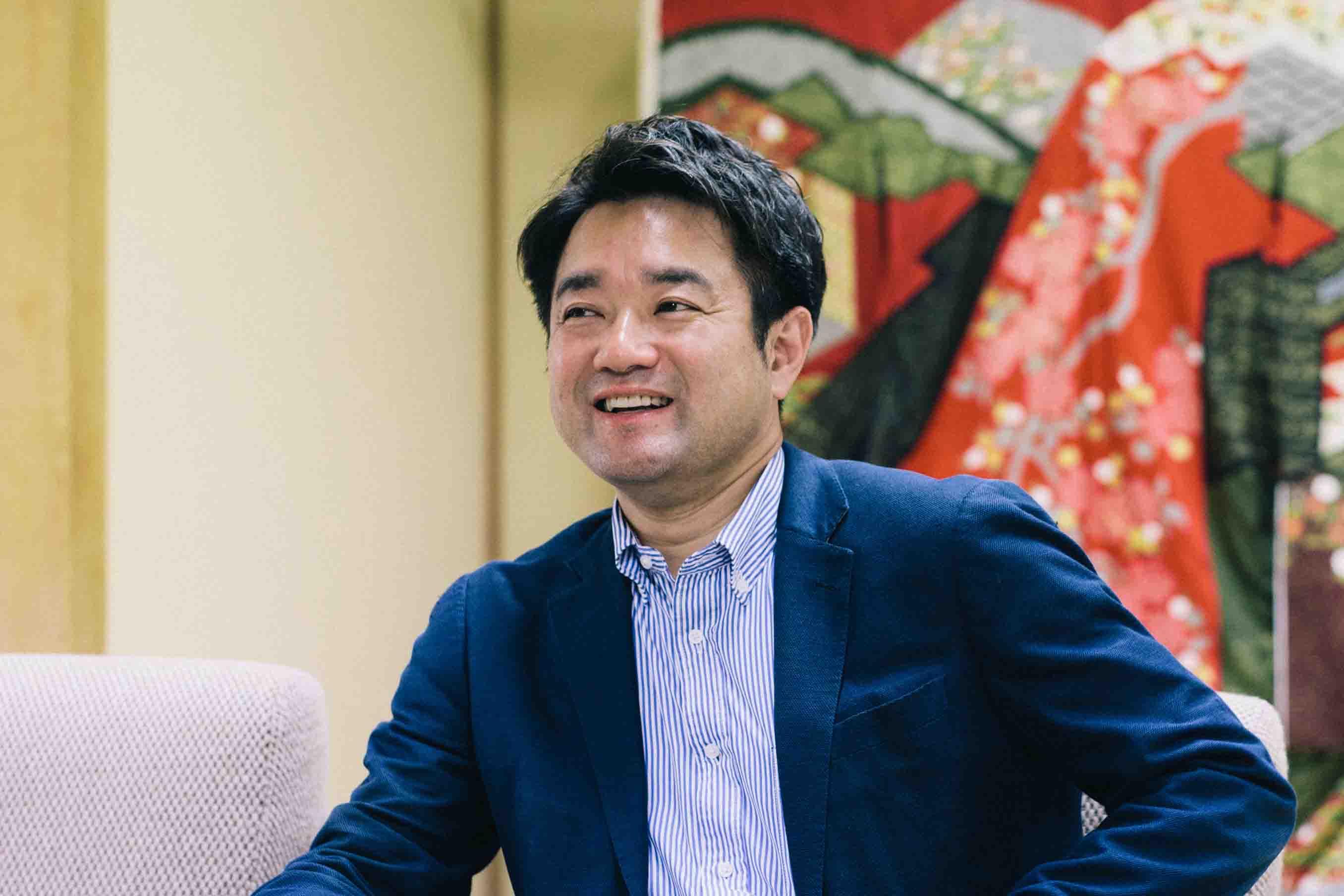 株式会社青柳の代表取締役専務 青柳蔵人 (あおやぎ くらんど) さん