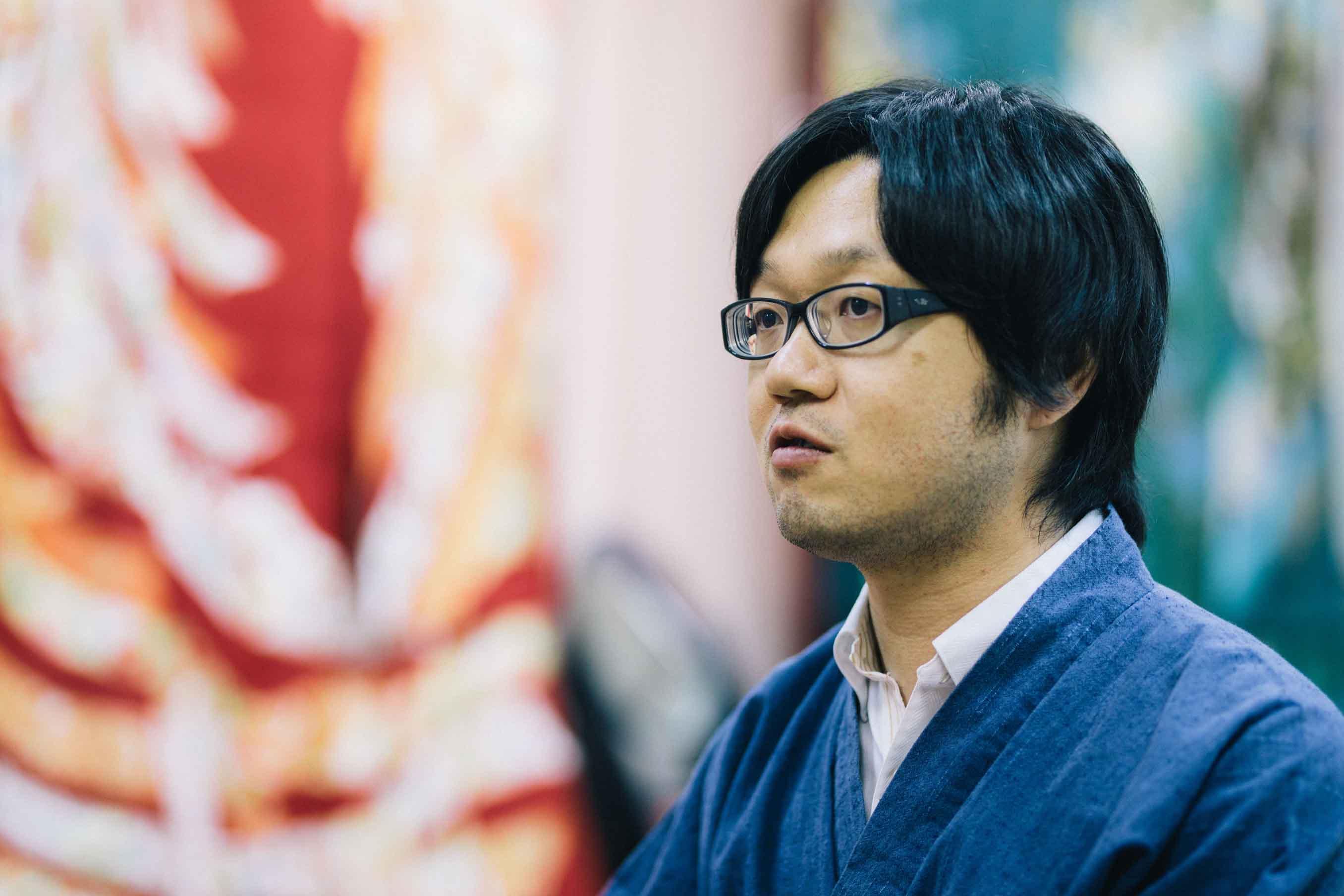 株式会社はぶき常務取締役の富澤和也さん