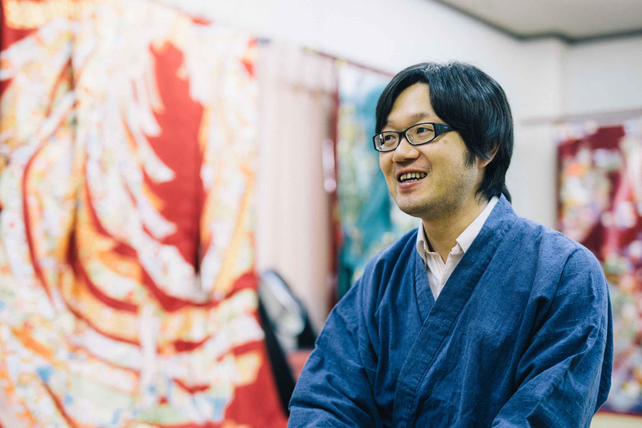 お話を伺った、株式会社はぶき常務取締役の富澤和也さん
